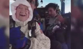 nonna record paracadute
