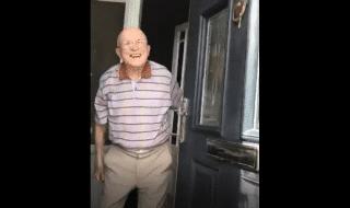 nipote nonno reazione