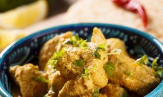 mangia pollo curry paralizzato