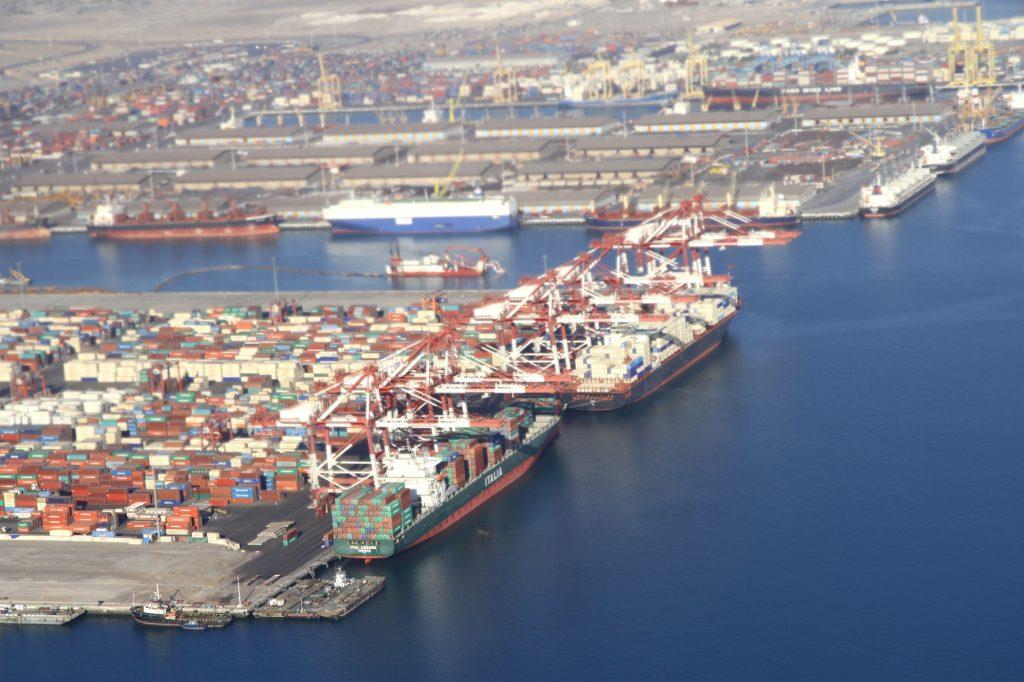 porto di Chabahar, in Iran