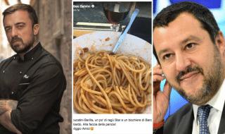 chef rubio pasta salvini