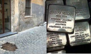 pietre d'inciampo roma