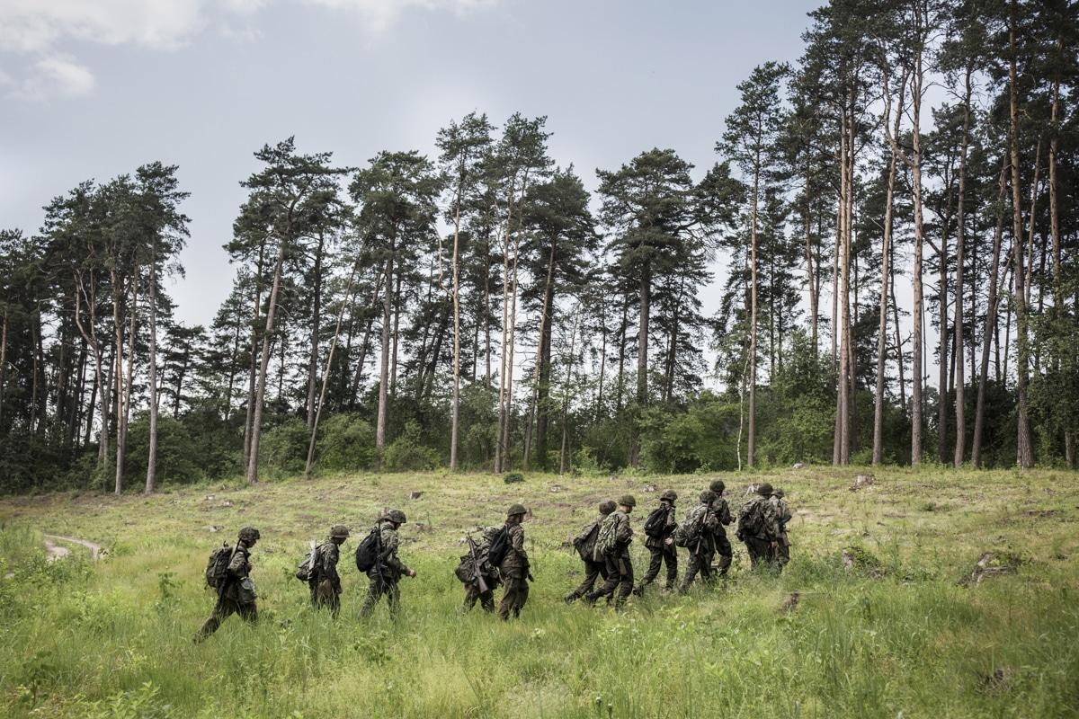 bambini soldato polonia