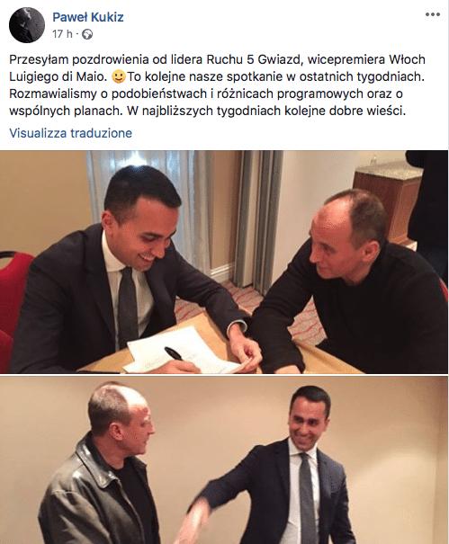 alleanze movimento 5 stelle europee