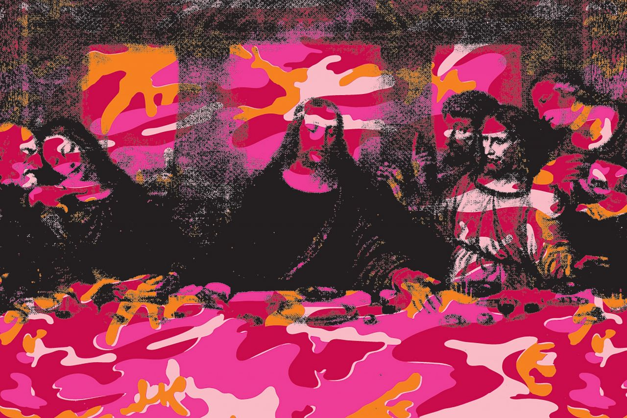 The last supper Andy-warhol-last-supper-3
