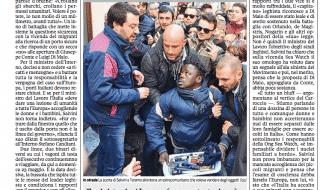 Salvini immigrato scorta