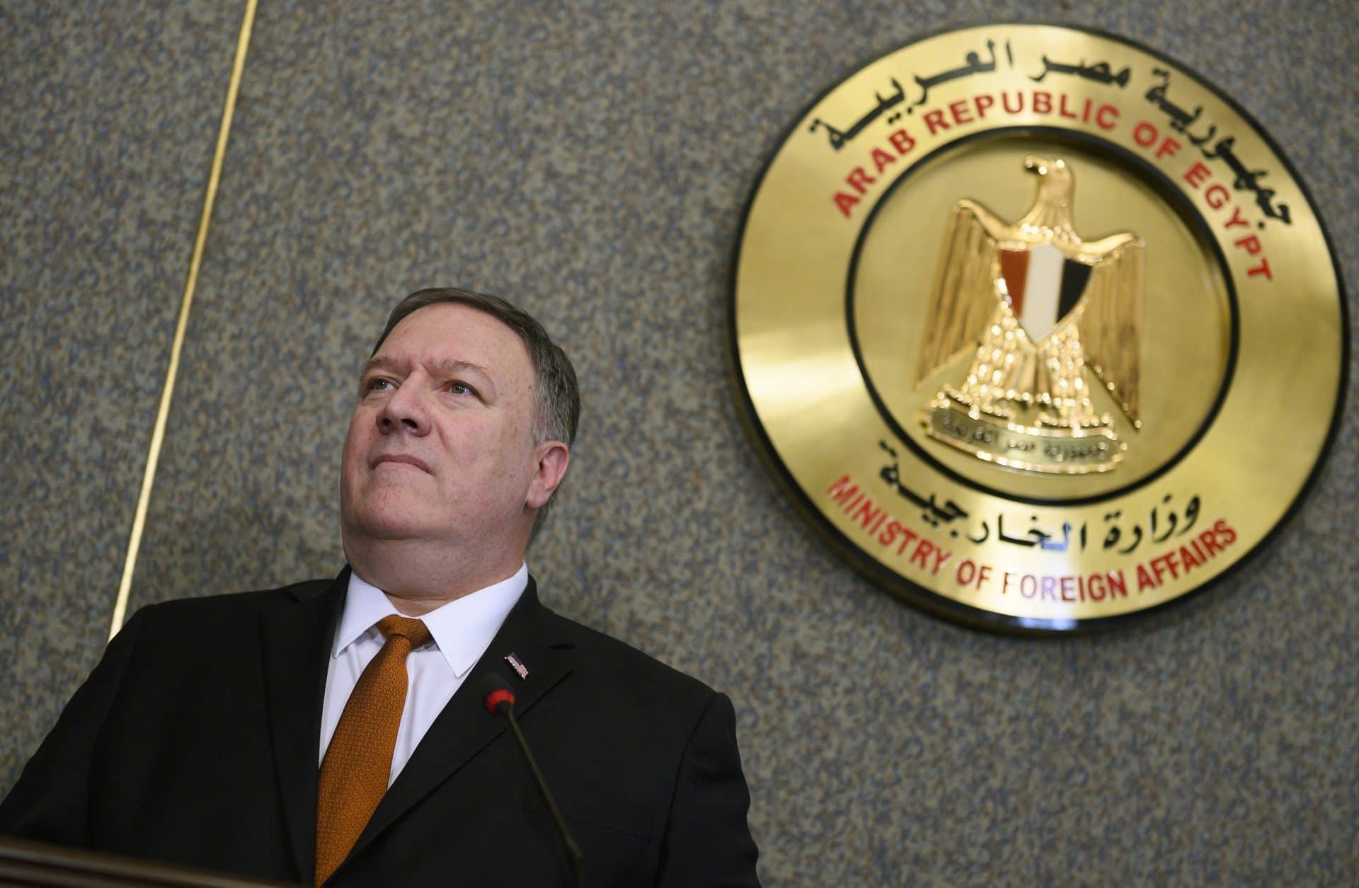 Usa, Mike Pompeo al Cairo: