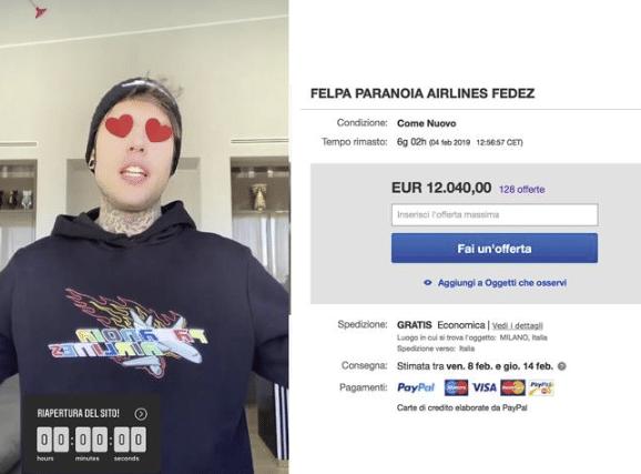 Fedez contro eBay: