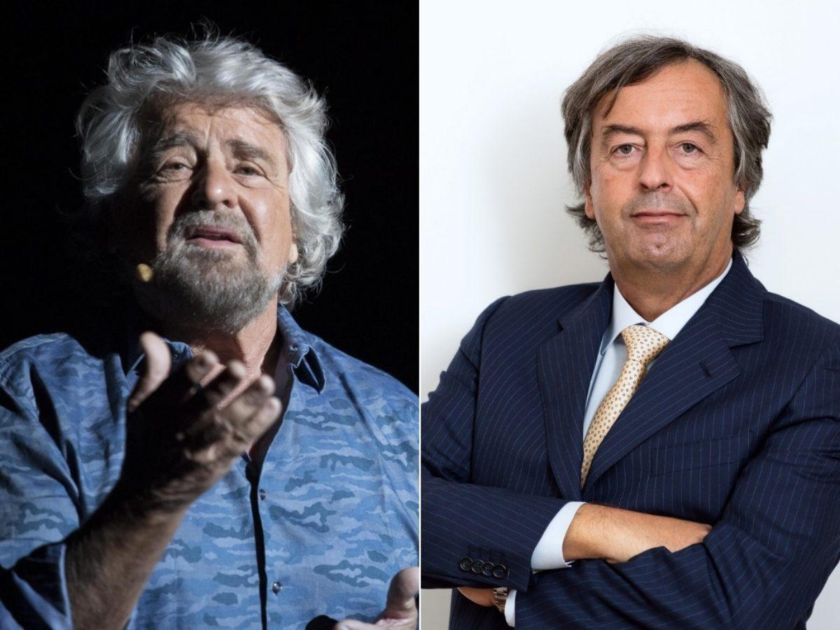 Beppe Grillo firma il patto pro vax lanciato da Burioni