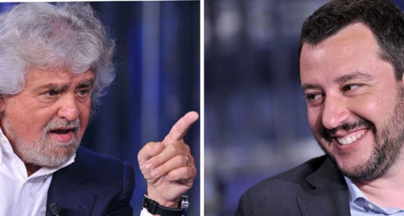 Beppe Grillo su Salvini: