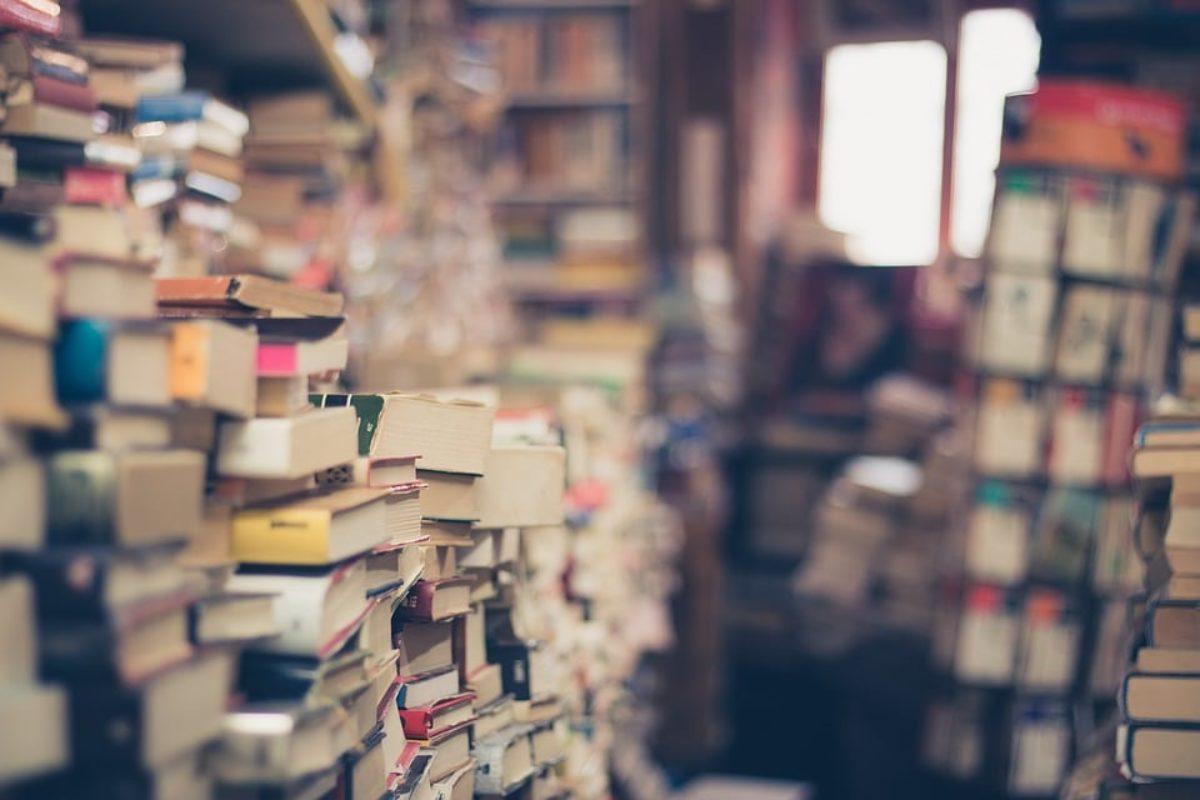 Stop alle fotografie dei libri per comprarli su amazon: una libreria