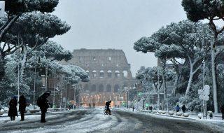 meteo previsioni neve roma 24 gennaio