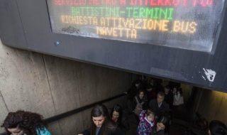 metro roma oggi 21 gennaio