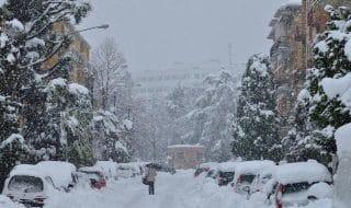 perchè nevica al sud italia