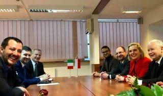 salvini europee alleanza destra polonia