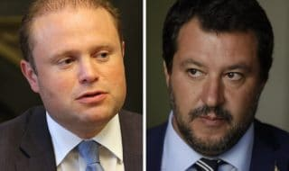 scontro italia malta migranti