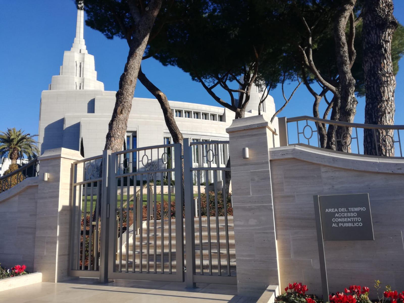 tempio mormone roma