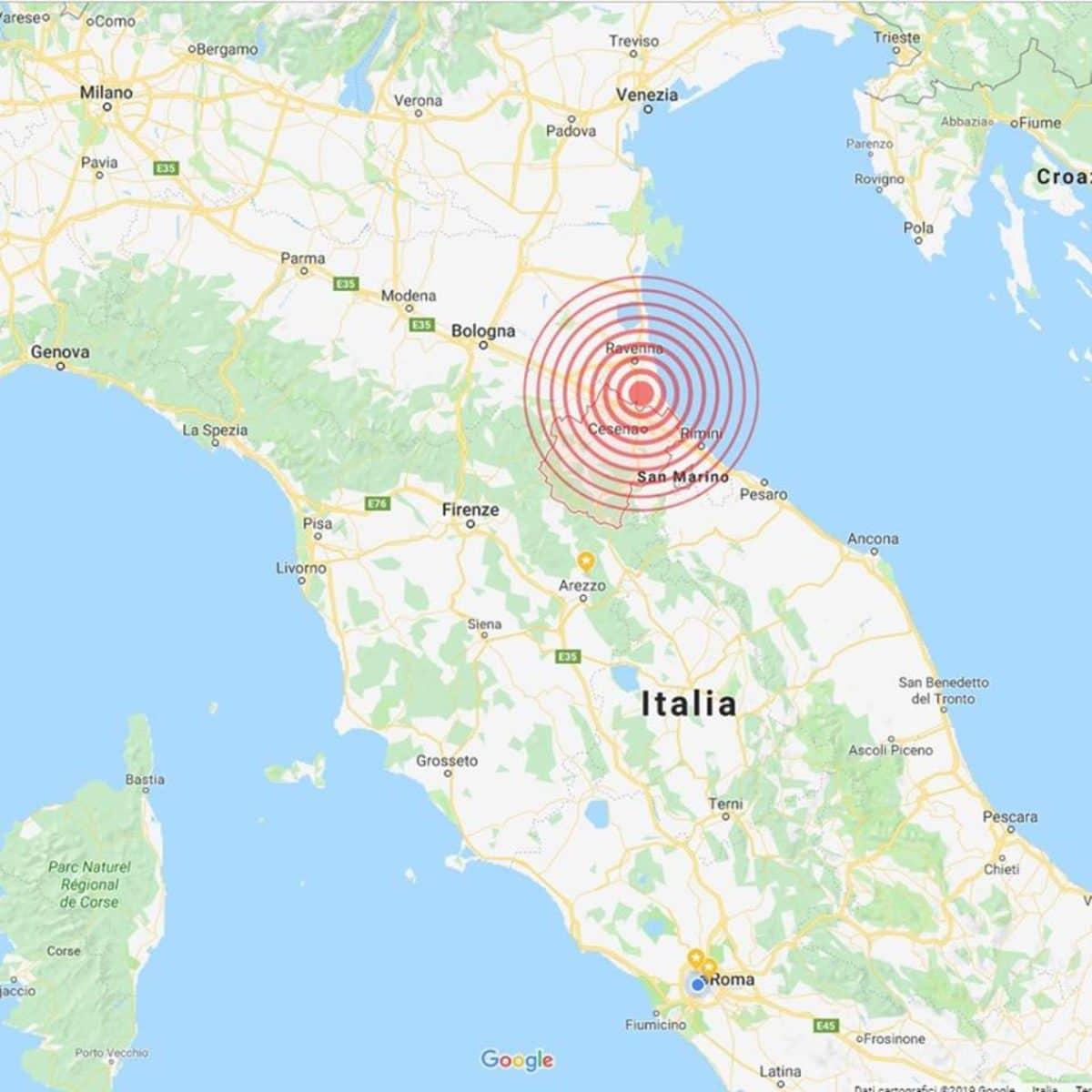 Scossa terremoto Ravenna | Emilia Romagna