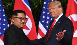 trump lettera kim summit