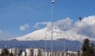 Etna eruzione oggi 9 febbraio 2019