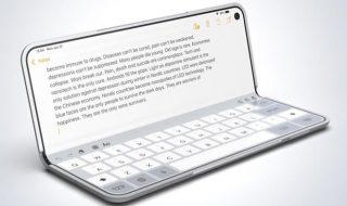 apple smartphone pieghevole