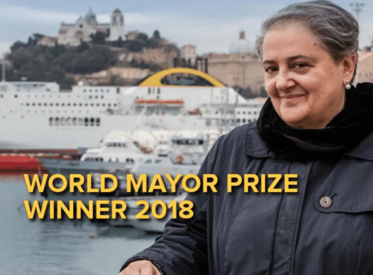 Ancona, Valeria Mancinelli è il sindaco del mondo 2018