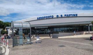 incendio aeroporto ciampino roma