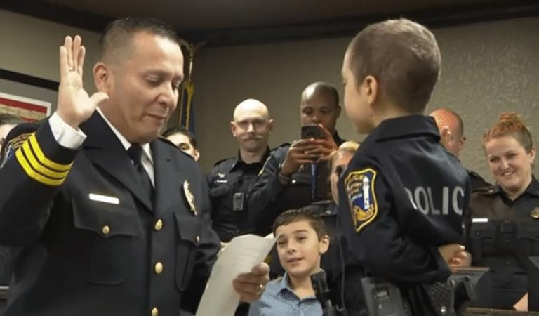 bmabina malata cancro poliziotta