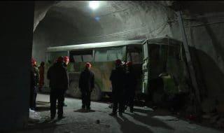 cina miniera bus