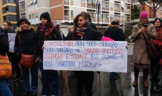 consultorimanifestazione consultori regione lazio Lazio obiettori coscienza