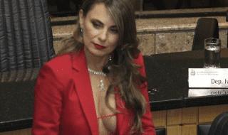 deputata brasiliana seno scoperto