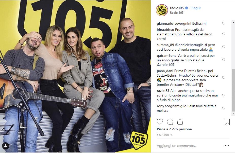 diletta leotta melissa satta radio 105