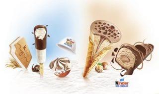 gelati kinder italia marzo