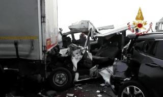 incidente autostrada vicenza oggi morto