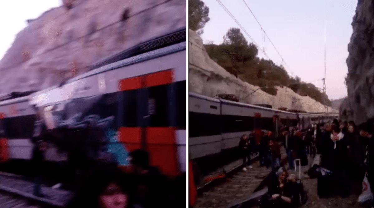 Scontro tra due treni in Spagna: un morto e 8 feriti