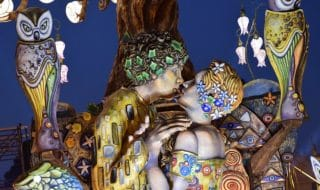 carnevale bacio klimt uomini
