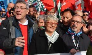 manifestazione 9 febbraio roma cgil