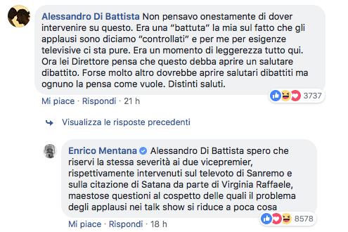 Di Martedì, Alessandro Di Battista al pubblico: