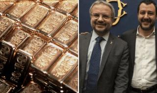 riserve auree italia Bankitalia lega