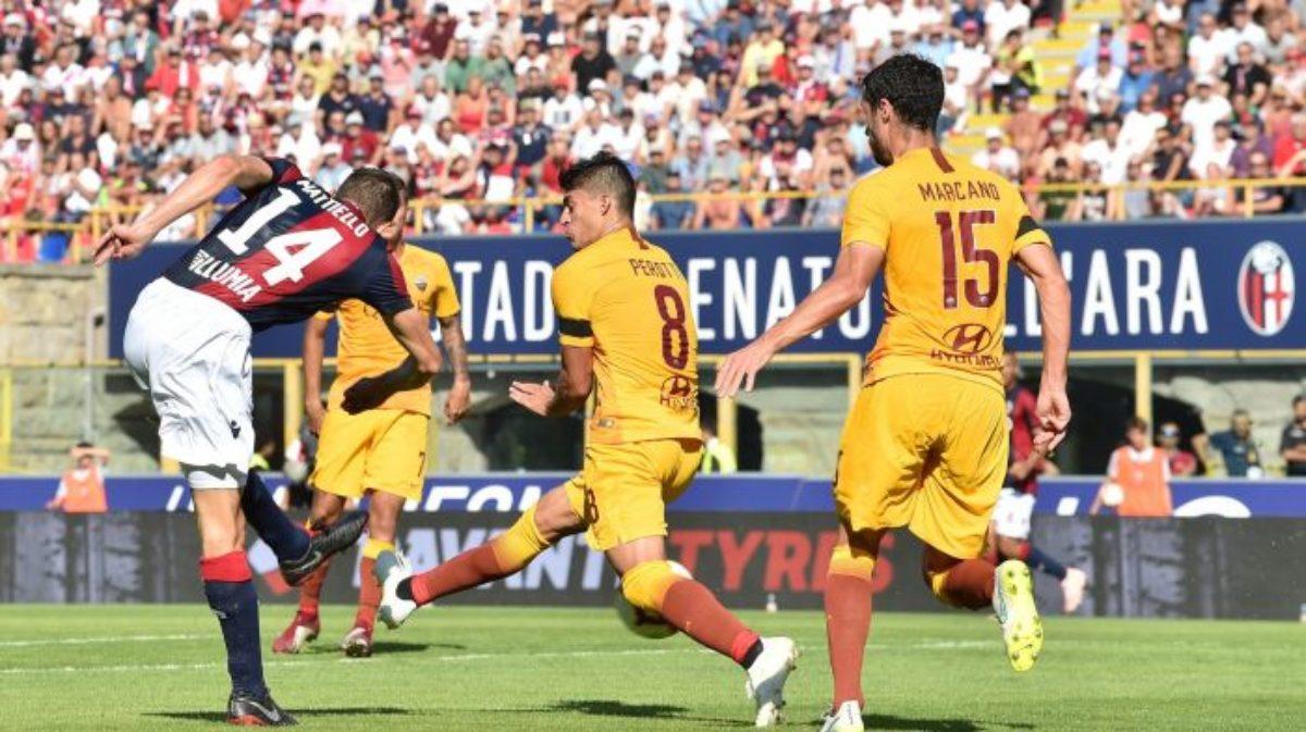 Roma Bologna 2 1 Diretta Formazioni Risultato Serie A Cronaca