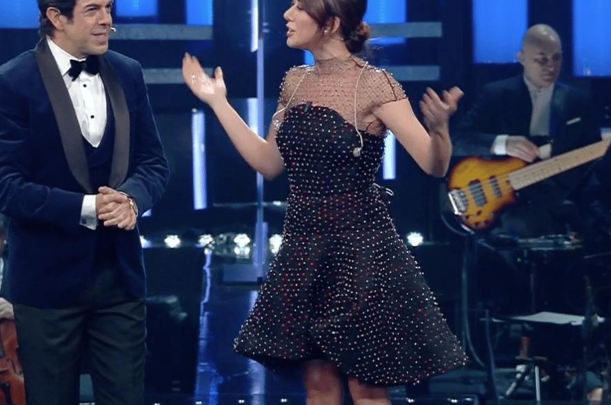 Sanremo 2019, il look di Virginia Raffaele per il Festival