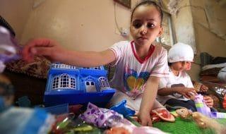 yemen spose bambine 3 anni