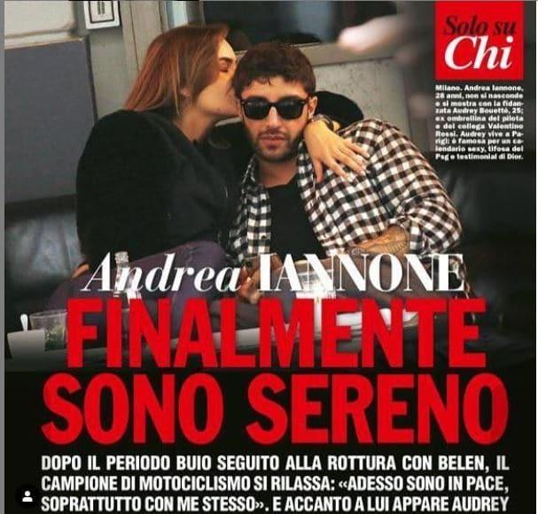 Andrea Iannone fidanzata