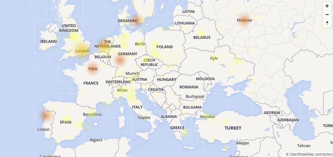 Facebook down 13 marzo