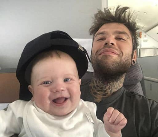 fedez compleanno leone