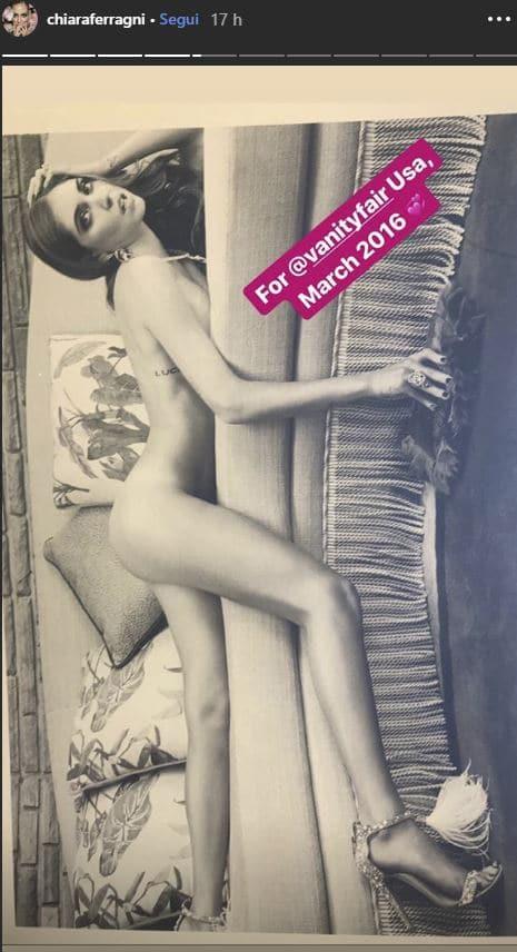chiara ferragni nuda instagram