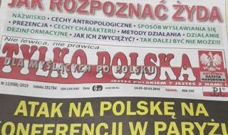 giornale polacco articolo ebrei
