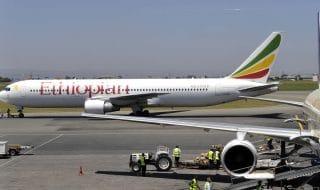 incidente etiopia modello aereo
