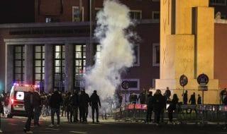 lazio roma incidenti derby
