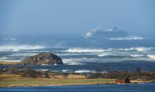 norvegia nave crociera salvataggio